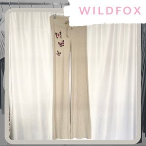 🆕 🦋 NWT WILDFOX Butterfly Tennis Club Pants